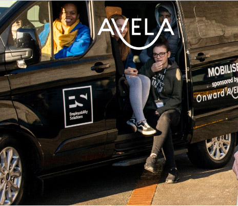 Avela Home Service sponsors minibus to support our young people